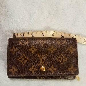 Vintage L. Vuitton Portefeuille Tresor Wallet